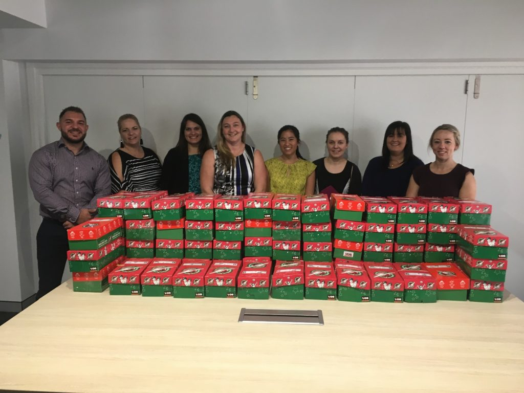Operation Christmas Child – Supporting disadvantaged kids